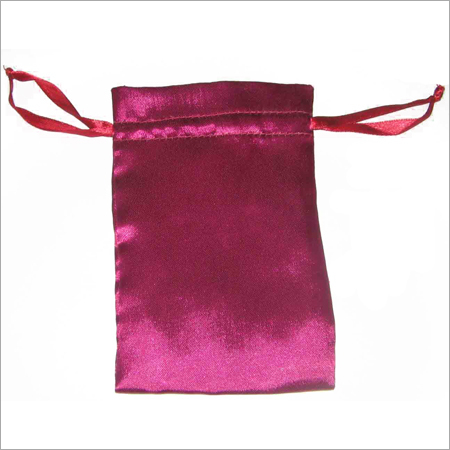 Satin Pouch Satin Ribbon