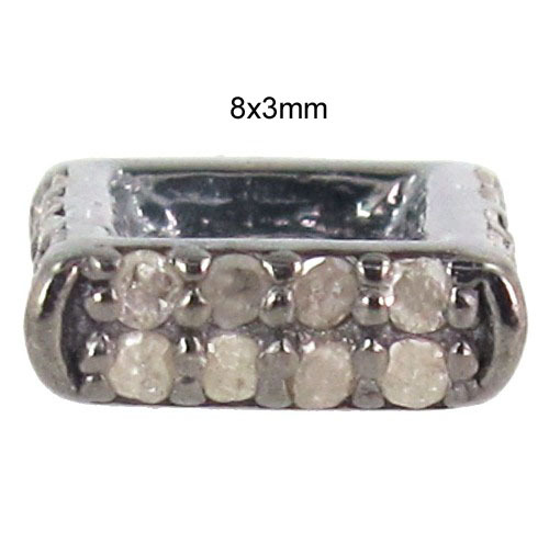 925 Sterling Silver Diamond Finding