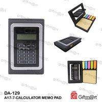 Memo Pad Calculator