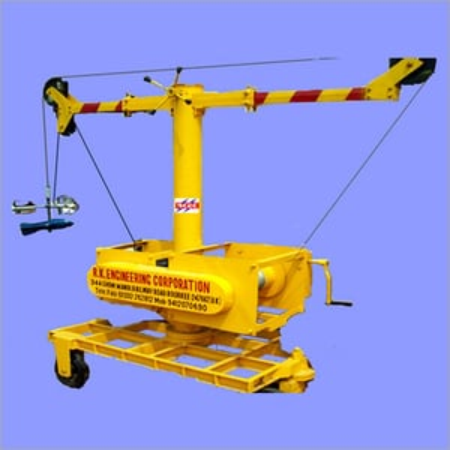Measuring boom Type Crane
