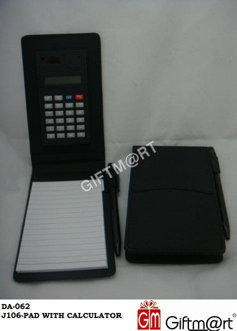 Pad With Calculator