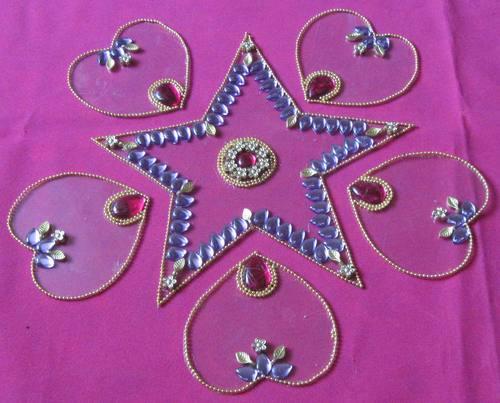 Floor Rangoli Designs for Diwali