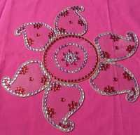 Floor Rangoli Designs