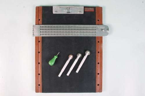 Braille Diagram Slate