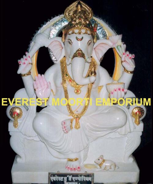 Marble Ganesh ji