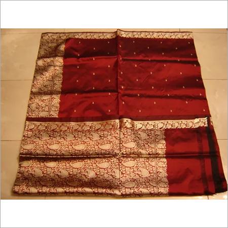 BRIDAL RED silk Saree