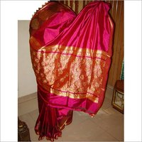 Beautiful Magenta cocktail saree