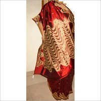 rajasthani silk saree