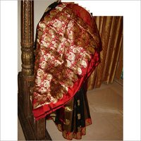 Mango design pure silk Saree