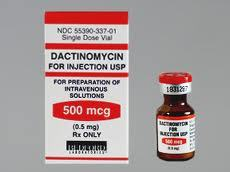 Dactinomycin injection