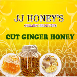 Cut Ginger Honey