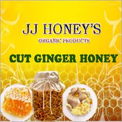 Cut Ginger Honey