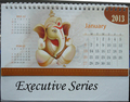 Executive Table Calendar