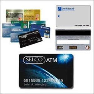 Magnetic Stripe ATM Card