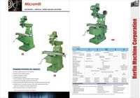 Mirco Mill Turret Milling Machine