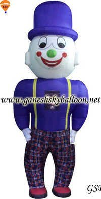 Character shape walking Inflatable