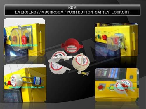 PUSH BUTTON SAFETY LOCKOUT