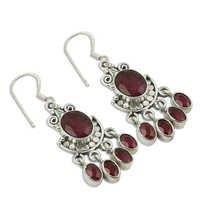 Dyed Ruby Gemstone Jewellery