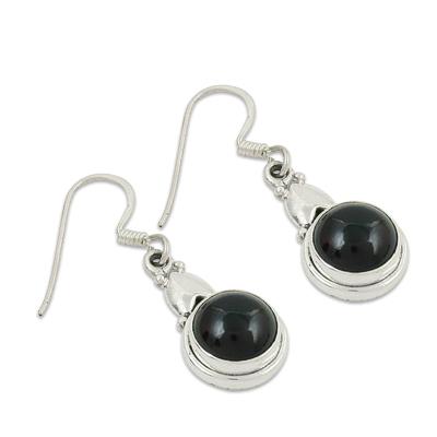 Garnet Gemstone Earrings Jewellery