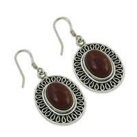 Carnelian Gemstone Earrings Jewellery