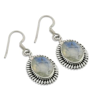 Rainbow Moonstone Earrings Jewellery