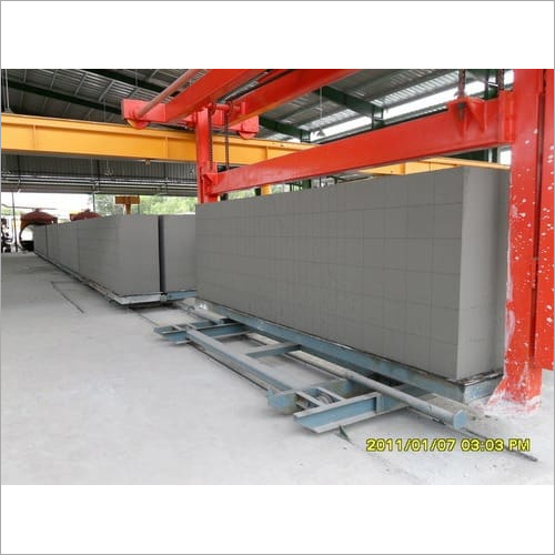 Autoclaved Aerated Concrete  Blocks Manufacturing Plant