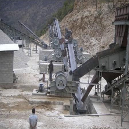 TPH Stone Crushing Plant
