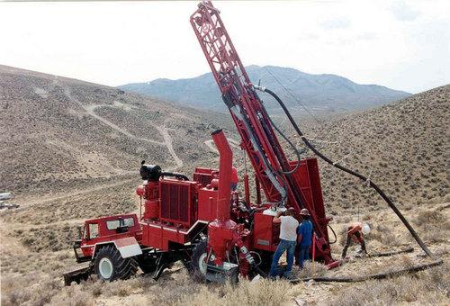 Mining Exploration Rig