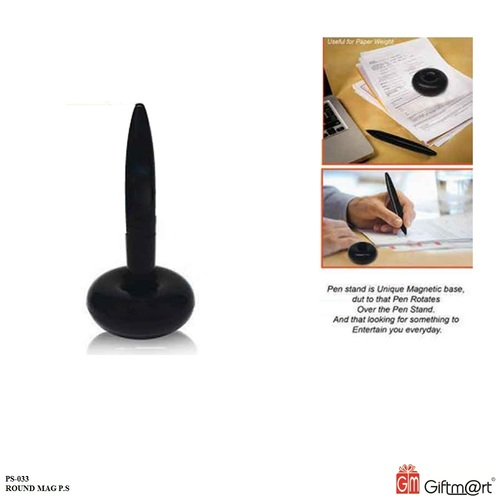 Round Magnet Pen Stand