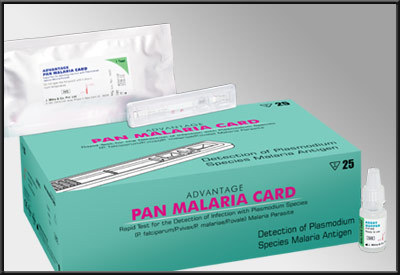 ADVANTAGE PAN MALARIA CARD
