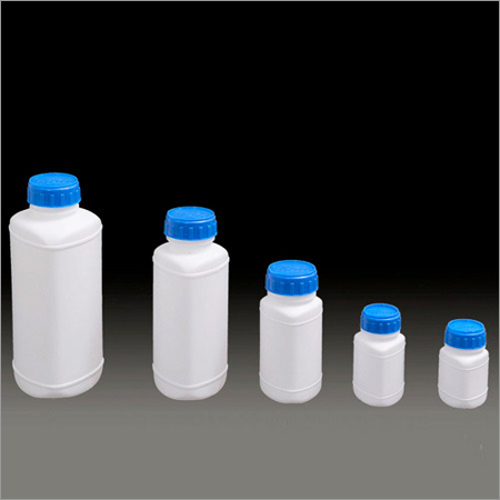 Triangle Shape Hdpe Bottles