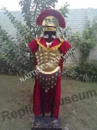 MEDIEVAL ARMOUR ROMAN BRASS FULL SUIT.