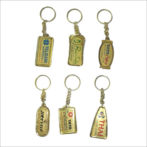 Spark Gold Plated Key Chain