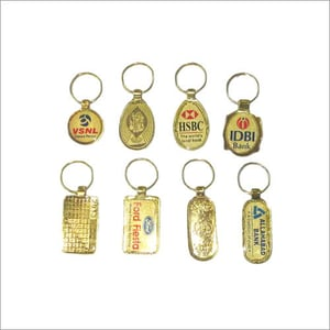 Gold Plated key chain