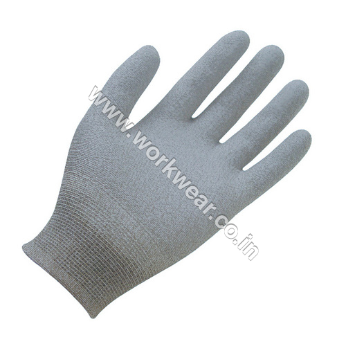 Safety PU Coated Hand Gloves
