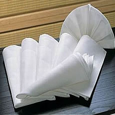 Folding Table Napkins
