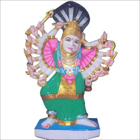 Goddess Saptashrungi Mata Marble Statue