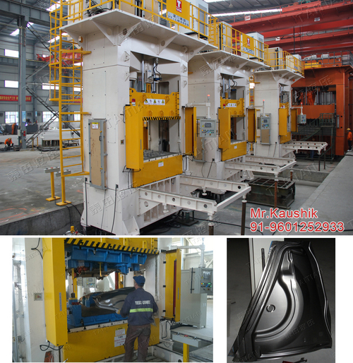 Hydraulic Deep Draw Press for Auto Parts