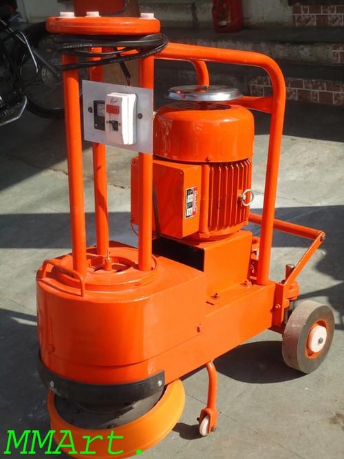 Terrazzo polishing machine