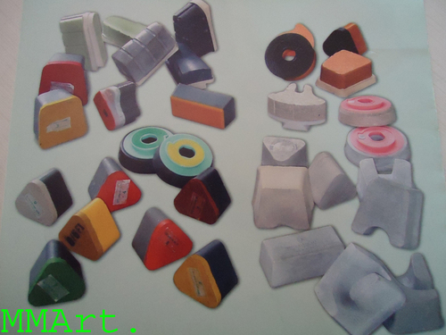 Indian Polisher media stone in difference shape