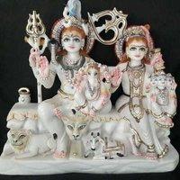 Marble Gauri Shanker Moorti