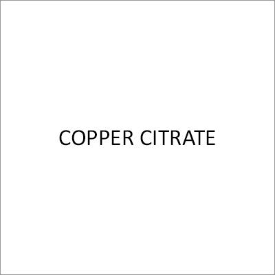 Copper Citrate