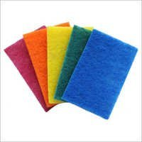 Multi-Color Scouring Pad