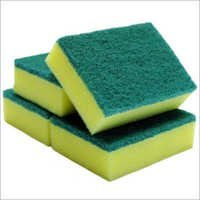 Middle Duty Green Scrub Sponge