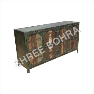 Industrial Iron Cabinet