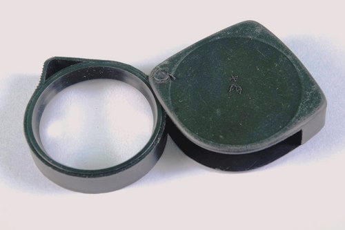 Braille Folding Pocket Magnifier Lens