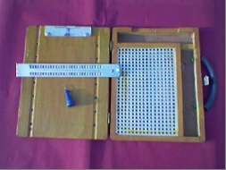 Combined Arithmetic & Braille Slate in Box