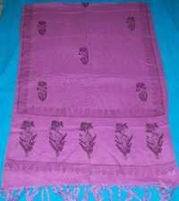 Rayon Block Printed Scarves