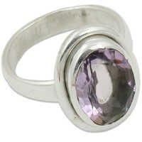 Amethyst Semi Precious Gemstone Silver Jewellery