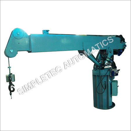 Electro-hydraulic Telescopic Davit